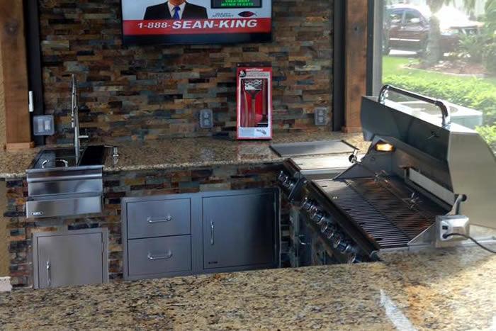 Patio Kitchen Design